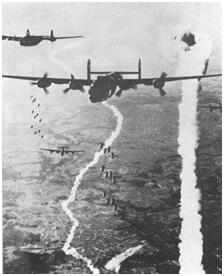 He-111 en misión de bombardeo