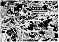 Durango bombardeado